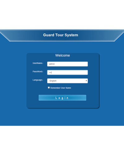 Web Patrol System for Online Guard Tour Management